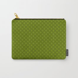 Green Star Circle Pattern Carry-All Pouch