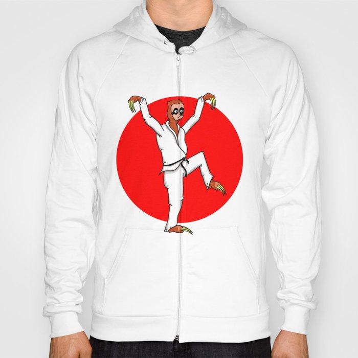 Sloth Karate Hoody