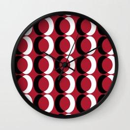 Seamless Geometric Pattern IV Wall Clock