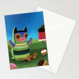 treat time Stationery Cards