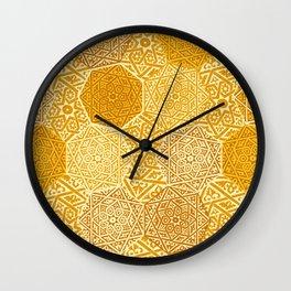 Saffron Souk Wall Clock