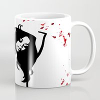 aries Mugs featuring Aries by Bree Stillwell Craft
