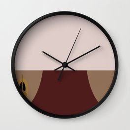 Odo - Minimalist Star Trek DS9 Deep Space Nine - Constable Odo - startrek - Trektangles Wall Clock