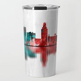 Augusta Georgia Skyline Travel Mug