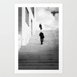Climbing Higher Art Print