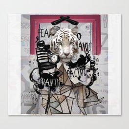 Tige o'clock Canvas Print