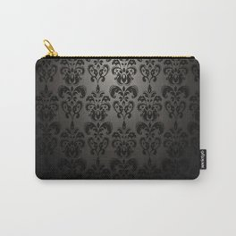 Sophisticated Black Pattern Carry-All Pouch