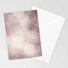x-mas light Stationery Cards