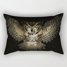 The awesome owl Rectangular Pillow