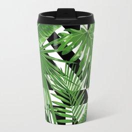 tropical geometric Travel Mug