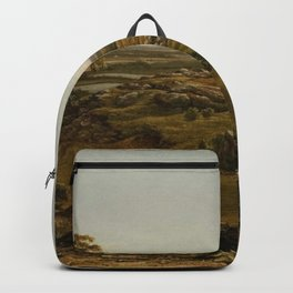Rocks In New England 1855 By Martin Johnson Heade   Reproduction Backpack