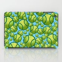 tennis iPad Cases featuring Tennis by joanfriends