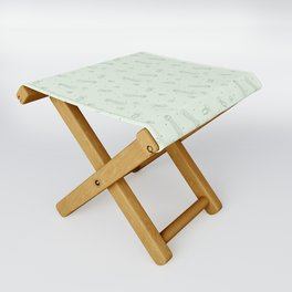 Jellyfish in Green Folding Stool