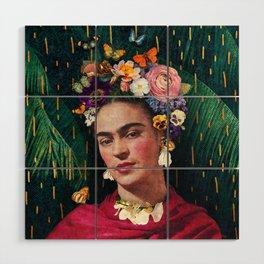 Frida Kahlo :: World Women's Day Wood Wall Art