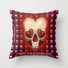 HAPPY VALENTINES DAY Throw Pillow