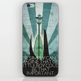 Ivory Tower iPhone Skin