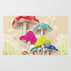 Magical Mushrooms Rug