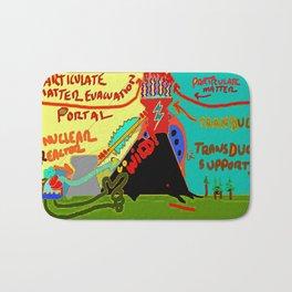 Particulate Matter Evacuation Portal Deluxe Bath Mat