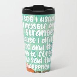 the sad things Travel Mug