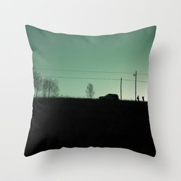 I am going to see mountain with you. Throw Pillow