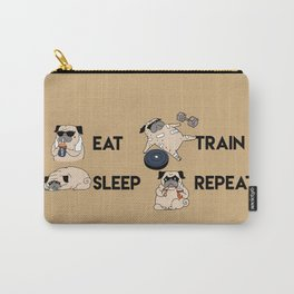 Eat Sleep Train Repeat Carry-All Pouch