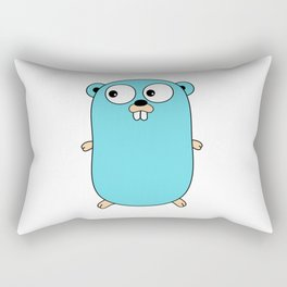 Gopher - Golang Rectangular Pillow
