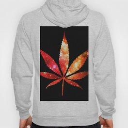 Weed : High Times orange red pink  Galaxy Hoody