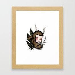 Waldkutan Framed Art Print