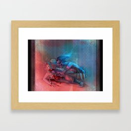 Suck it! Framed Art Print