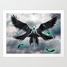 Tormenta De Murcielago Art Print