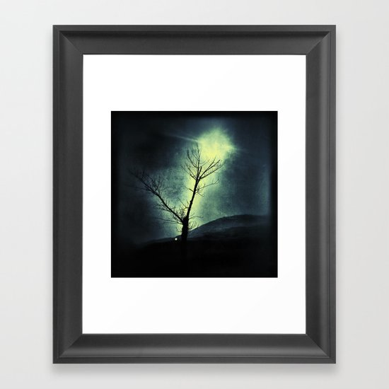 Dark Sun Framed Art Print
