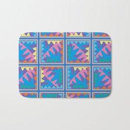 Mountain Puzzles Pastel Bath Mat