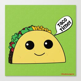 Taco Time Canvas Print