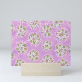 Purple Petal Rose Mini Art Print