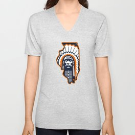 Fighting Illini Football Merch Unisex V-Neck