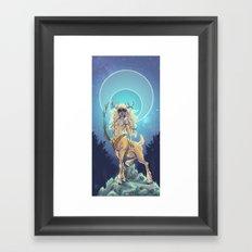 Golden Hind Framed Art Print