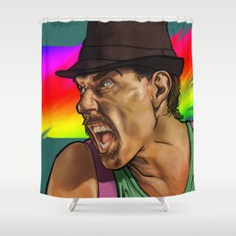 Fight Colours Shower Curtain
