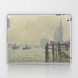 Claude Monet - The Thames Below Westminster Laptop & iPad Skin