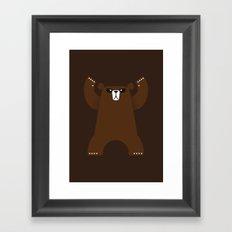 El Osu Framed Art Print