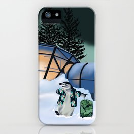 Parker the Penguin iPhone Case