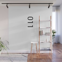 11 Eleven Wall Mural