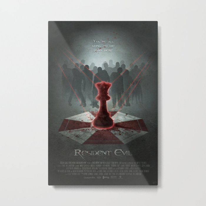 The Red Queen Metal Print