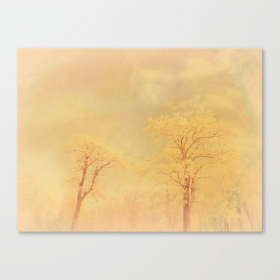 Love ~ Winter landscape Canvas Print