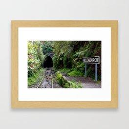 Helensburgh Old Station Framed Art Print