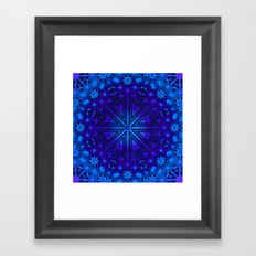 Deep Snow Framed Art Print