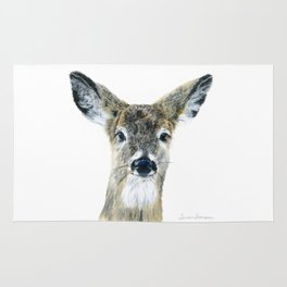 Doe Eyes by Teresa Thompson Rug