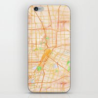 houston iPhone & iPod Skins featuring Houston, Texas by Emily Day