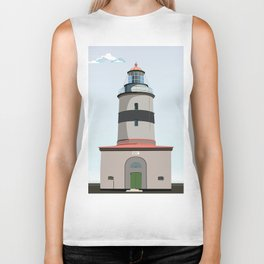 The lighthouse of Falsterbo Biker Tank