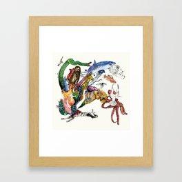 Morning Teleportation Expanding Anyway album cover art Framed Art Print