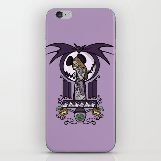 Nightmare Nouveau iPhone & iPod Skin
